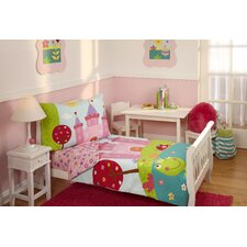 Kaela 4 Piece Fairytale Toddler Bedding Set
