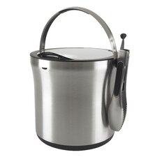 SteeL™ Ice Bucket and Tong Set
