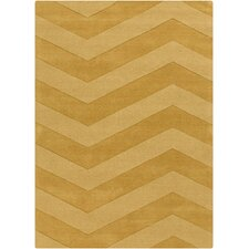 Mystique Hand-Loomed Gold Area Rug