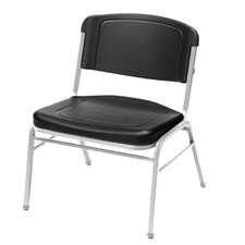 Big and Tall Armless Office Stacking Chair