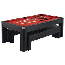 Park Avenue 10 Piece 7' Pool Table Combo Set