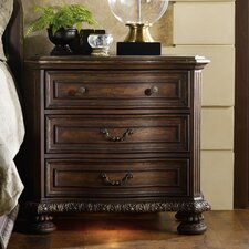 Adagio 3 Drawer Bachelor's Chest by Hooker Furniture