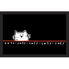 Fußabstreifer Cat
