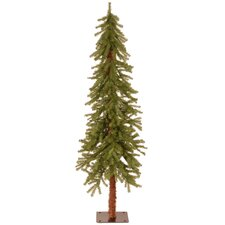 Hickory Cedar 5' Green Artificial Christmas Tree with Unlit
