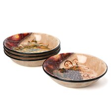 Wine Cellar by Tre Studios Pasta/Soup Bowl (Set of 4)