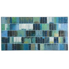 Glass Tiles by Billy Moon Painting on Canvas
