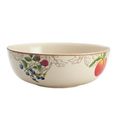 "Orchard Harvest Stoneware 9"" Serving Bowl"
