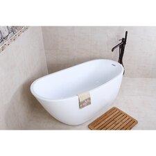 """Aqua Eden 59"""" x 28.6"""" Soaking Bathtub"""