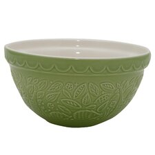 In The Forest Embossed Earthenware Mixing Bowl