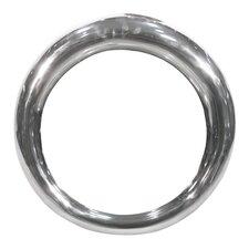 Round Metal Hoop Mirror