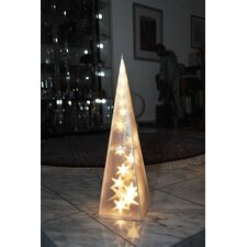 LED-Weihnachtsleuchter Pyramide