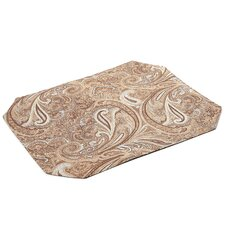 Timeless Paisley Table Linens Reversible Placemat (Set of 2)