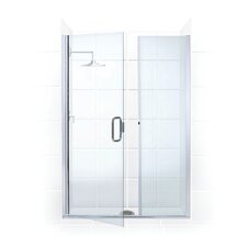 "Paragon Illusion 35.25"" x 70"" Hinged Frameless Shower Door and Inline Panel"