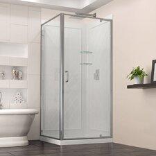 Flex 36 W x 36 D Frameless Shower Enclosure by DreamLine