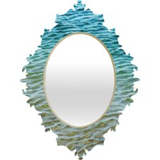 Shannon Clark Ombre Sea Baroque Wall Mirror