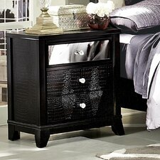 Jacqueline 3 Drawer Nightstand by Woodhaven Hill