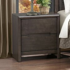 Lavinia 2 Drawer Nightstand by Woodhaven Hill