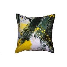 'Yellow Jacket' Throw Pillow