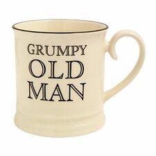 """Quips and Quotes """"Grumpy Old Man"""" Tankard Mug"""