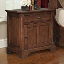 Retreat Cherry 1 Drawer Nightstand by Cresent Furniture