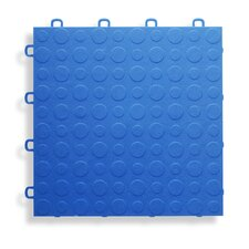 "12"" x 12""  Garage Flooring Tile in Blue"