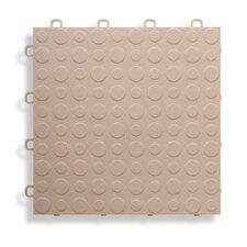 """12"""" x 12""""  Garage Flooring Tile in Beige"""