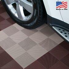 "12"" x 12""  Deck and Patio Flooring Tile in Beige"