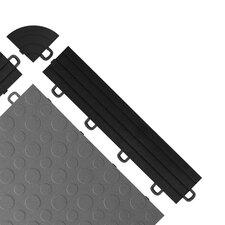 Interlocking Ramp Edges in Black with Loops