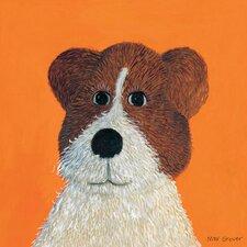 Oscar Mutt Canvas Art