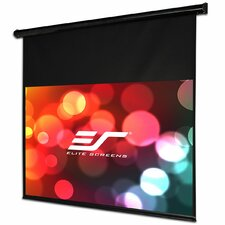 Starling Ceiling / Wall Mount White Electric Projection Screen