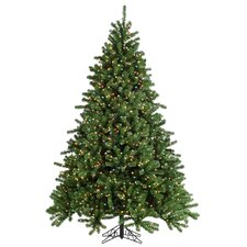 HB 7.5' Grand Canyon Spruce Christmas Tree with 1200 Multi Lights with Stand