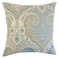 Kirrily Damask Linen Throw Pillow