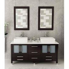 72 Double Bathroom Vanity Set with Mirror by Kokols