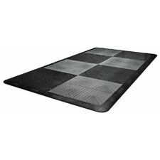 Garage Floor Pack 32 Sq Ft of Garage Flooring including Trim and Corner Pieces