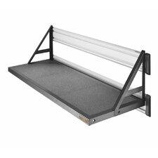 """Premier Series 45"""" W x 20"""" D GearLoft Steel Garage Shelf in Hammered Granite"""