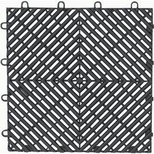 4-Pack Garage Floor Drain Tile (Set of 4)