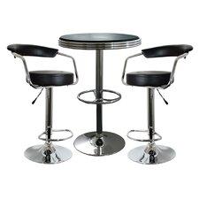 Southampton 3 Piece Pub Table Set