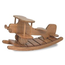 Amish Unique Crafted Airplane Rocker Heirloom Toy by FireSkape