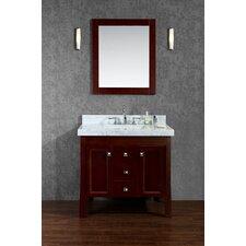 "Greenbrier 36"" Single Bathroom Vanity Set with Mirror"