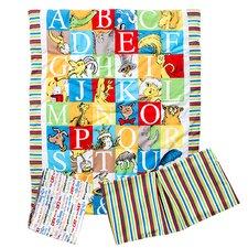 Dr. Seuss Alphabet Seuss 3 Piece Crib Bedding Set