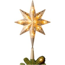 Bethlehem Star Tree Topper With End Connector