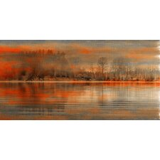 Serenity Art Print Wrapped on Canvas