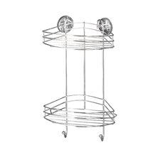 Vacuum-Loc Corner Steel Shower Caddy