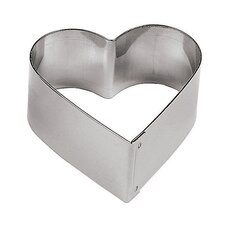 Heart Shaped Pastry Ring (Set of 6)