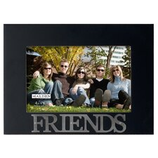 4 x 6 friends rustic nails picture frame