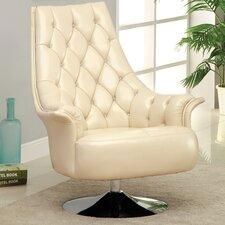 Caressa Swivel Arm Chair by Hokku Designs