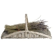 Esschert's Garden Willow Flower Basket