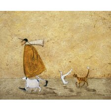 Leinwandbild Ernest, Doris Horace and Stripes von Sam Toft