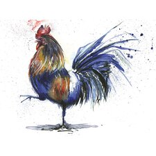 Strut Your Stuff by Sarah Stokes Canvas Wall Art