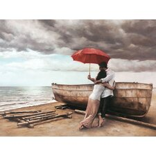 And This Too Shall Pass by Daniel Del Art Print on Canvas